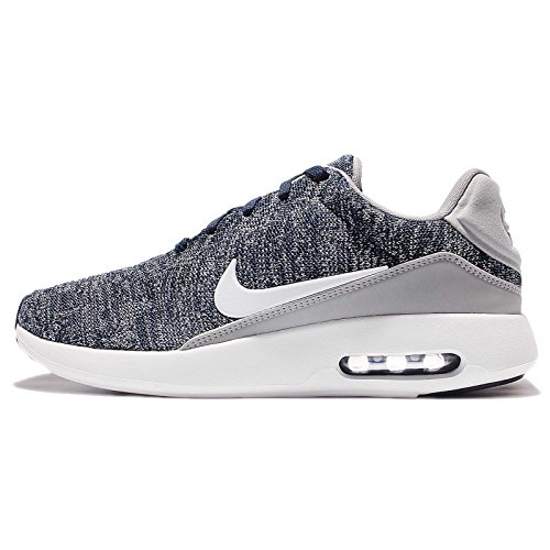 Max Max Max Gr Sneakers Nike Modern Modern Modern Flyknit white College Basses Homme Air Navy wolf qII5OwAP