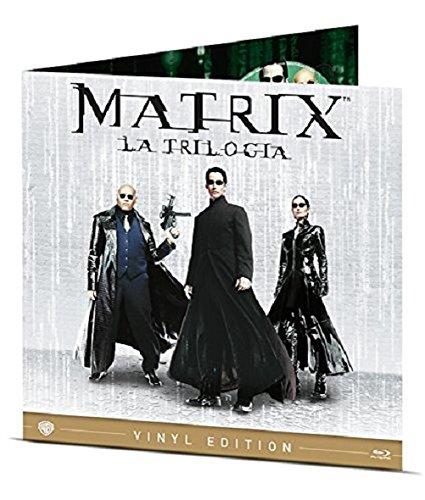 Matrix - La Trilogia Vinyl Edition 3 Blu-Ray Italia Blu-ray: Amazon.es: Monica Bellucci, Don Davis, Laurence Fishburne, Carrie-Anne Moss, Joe Pantoliano, Jada Pinkett Smith, Keanu Reeves, Hugo Weaving, Lambert Wilson, Andy Wachowski,