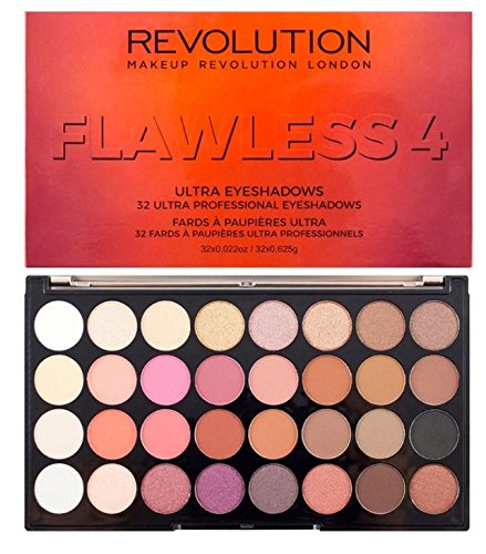 Makeup Revolution Flawless 4 Ultra 32 Eyeshadow Palette
