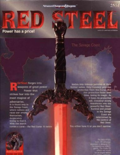 Red Steel (ADVANCED DUNGEONS AND DRAGONS 2ND EDITION)