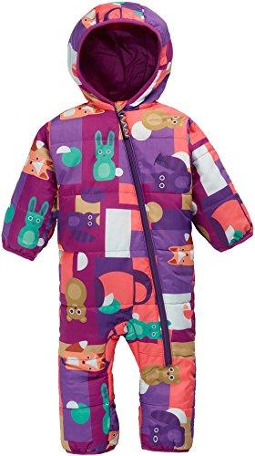 Burton Minishred Infant Buddy Bunting Snow Suit Kids SZ 6-12 (Burton Suit)
