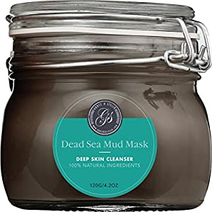 NEW Dead Sea Mud Mask, 250g/ 8.8 fl. oz. - Reduces Wrinkles, Facial Treatment, Minimizes Pores, Improves Overall Complexion - Provides Relief from Acne, Blackheads, Pimples, Scars & Cellulite