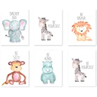 Cuadros infantiles Animal abstracto de dibujos animados Decorar
