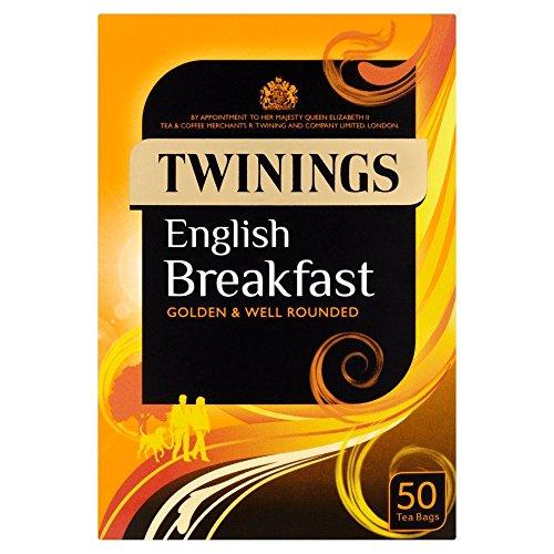 Twinings English Breakfast Tea Bags - 50's