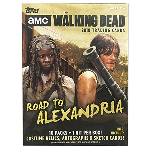 Topps Cards Topps: The Walking Dead Road to Alexandria Value Box, Multicolor -