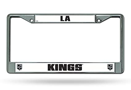 Amazon.com : Hall of Fame Memorabilia Los Angeles Kings Chrome ...