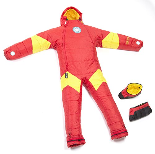 Selk'bag Iron Man Sleeping Bag, Small, Red