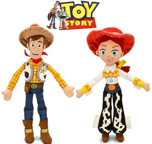 5Star-TD Disney Toy Story Woody and Jessie Doll Set -