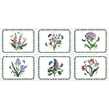 Portmeirion Botanic Garden - Rect Place Mats - Set of 6 (Pack of 4)