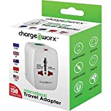 Charge Worx International Travel Adapter