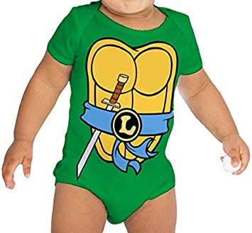 0b11ac5d8 Amazon.com   Teenage Mutant Ninja Turtles Green Leonardo Costume ...