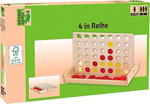 Vedes Großhandel Gmbh - Ware - Juegos Naturales 4 en una Fila: Amazon.es: Juguetes y juegos