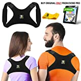 Back Posture Corrector for Women and Men + Resistance Band - Trains Your Back Muscles to Prevent slouching and Provides Back Pain Relief (Regular)
