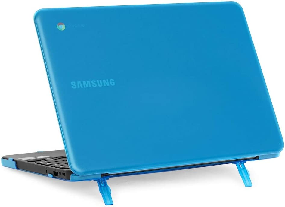 """mCover Hard Shell Case for 2018 11.6"""" Samsung Chromebook 3 XE501C13 Series (NOT Compatible with Older XE303C12 / XE500C12 / XE503C12 / XE500C13 Models) Laptop (Aqua)"""
