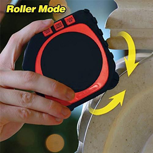 - HAOMAO 1PCS B 3-in-1 Digital Tape Measuring String Sonic Roller Mode Survey Laser