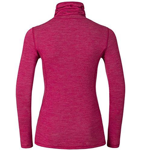 Odlo Revolution Warm Baselayer Camiseta Manga Larga Para Mujer Camiseta de rosa