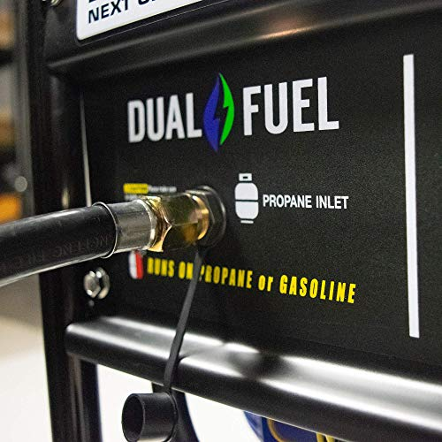 DuroMax Hybrid Dual Fuel XP4400EH 4,400-Watt Portable Generator by DuroMax (Image #13)
