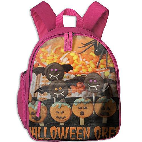 Backpacker Halloween Costume (AXAM Halloween Oreo Pops Luggage Basic Halloween Printing Backpack(with Pockets))