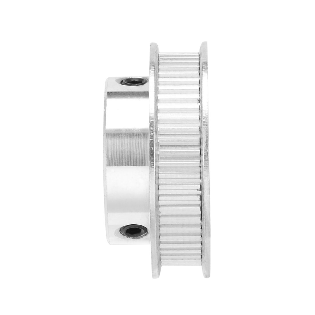 uxcell Aluminum XL 40 Teeth 10mm Bore Timing Belt Pulley Flange Synchronous Wheel for 10mm Belt 3D Printer