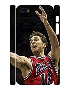 Funny Personalized Hipster Basketball Athlete Phone Pattern Skin for Iphone 5 5S Case by lolosakes