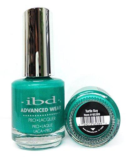 IBD Advanced Wear Pro Lacquer, Turtle Bay, 0.5 Fluid - Lacquer Turtle