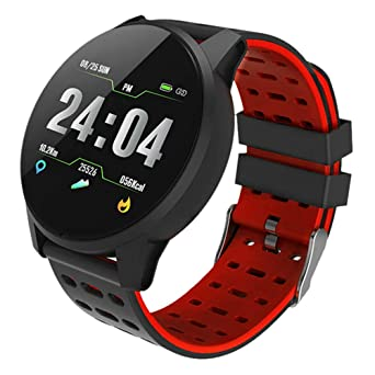 GOHUOS Fitness Tracker IP67 Waterproof Smartwatch with Heart Rate Blood Pressure Sleep Monitor Pedometer Calorie Step Counter Sports Fitness Watch ...