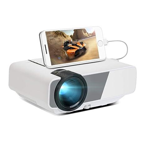 Mini proyector Mini proyector portátil de Cine en casa HD ...