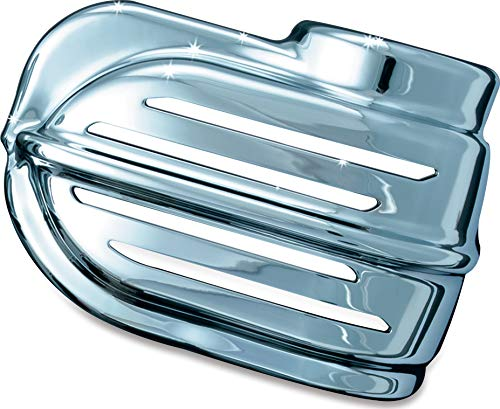 Kuryakyn 7732 Motorcycle Accessory: Wolo Bad Boy Air Horn Cover for 1995-2019 Harley-Davidson Motorcycles, Chrome