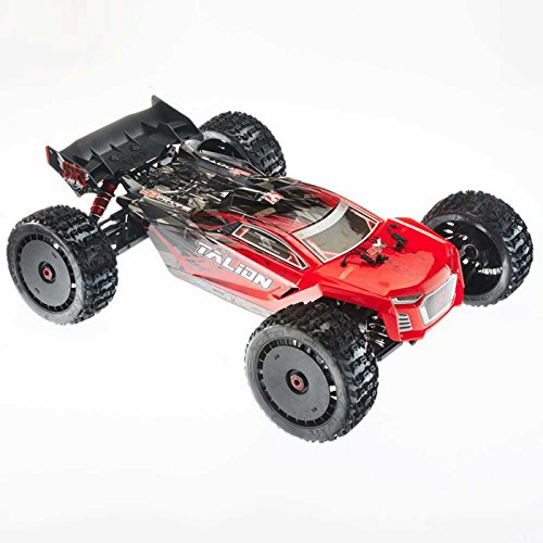Arrma Talion 6S 1:8 Scale BLX Brushless 4WD RTR Electric Remote Control RTR RC Truggy, Red/Black