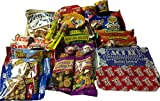 Almost Healthy Snack Box College Care - 24 Plus Package Snacks - College Gift Basket, Military, Office Snacks