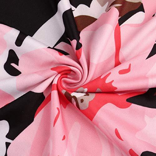 Women Long Gown Summer Beach Sleeveless Sundress Boho Floral Print Dress Maxi Dress by Lowprofile by Lowprofile Dress (Image #4)