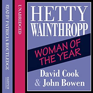 Hetty Wainthropp - Woman of the Year Audiobook