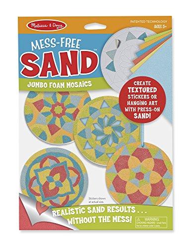 Melissa & Doug Mess-Free Sand Mosaics Jumbo Foam Stickers (Foam Mosaic)