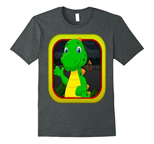 Mens Scottie The Baby Dino - App Game - DTillis XL Dark Heather