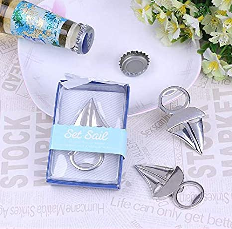 A Team Products Airplane Beer Bottle Opener Party Favor Wedding Birthday Gift Box Airplane