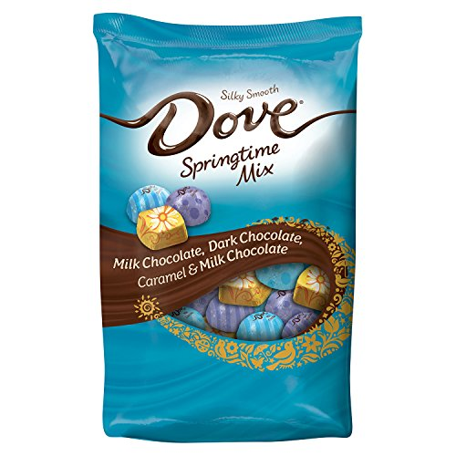 DOVE Assorted Chocolate Candy Springtime Mix 33-Ounce Bag