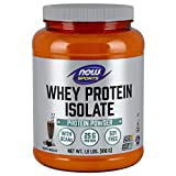 NOW Sports Whey Protein Isolate, Dutch Chocolate, 1.8 lbs.