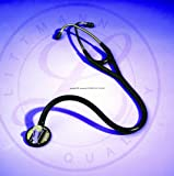 3M Littmann Master Cardiology Stethoscope, Lit Mstrcrdio Blk Ctd Ss 27 in, (1 EACH, 1 EACH)