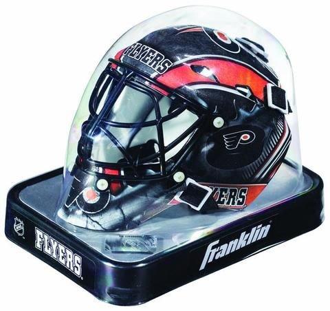 New Philadelphia Flyers Franklin Sports Mini Hockey Goalie Mask - - Mini Hockey Helmet Flyers