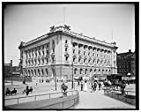 40 x 30 Ready to Hang Canvas Wrap New Post Office Cleveland Ohio 1905 Detriot Publishing 31a