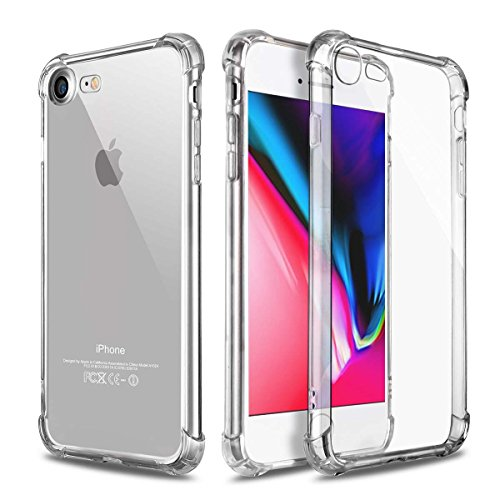Phone Case for iPhone 8 iPhone 7 Cases Clear, Ultra Thin Cle
