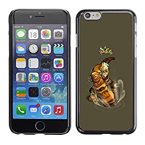 LECELL--Funda protectora / Cubierta / Piel For iPhone 6 -- Dofus --