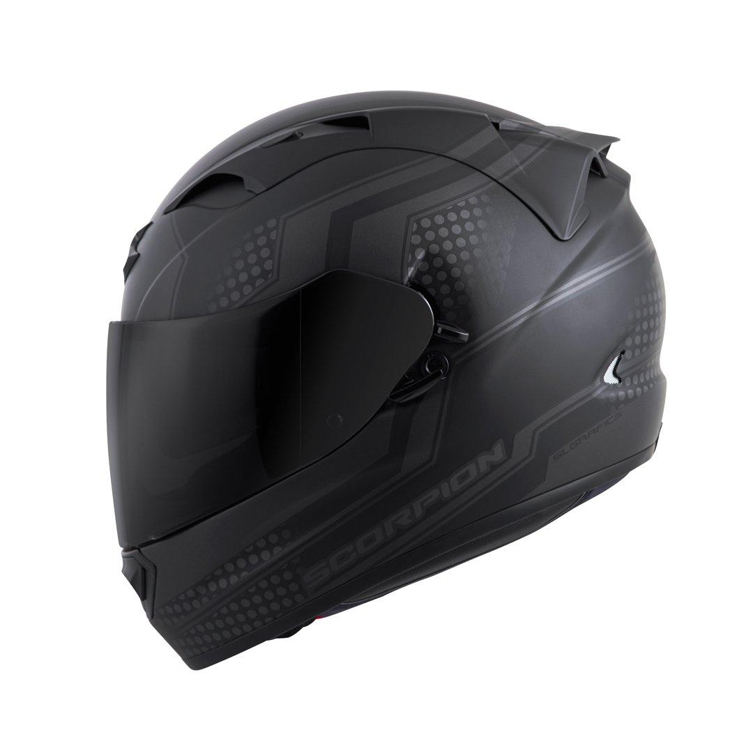 Red, Large T12-1015 Scorpion EXO-T1200 Alias Street Motorcycle Helmet