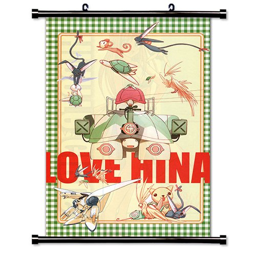poster girls love hina