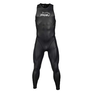 ZAOSU Speed Suit Triathlon Largo para Hombre y Mujer: Amazon ...