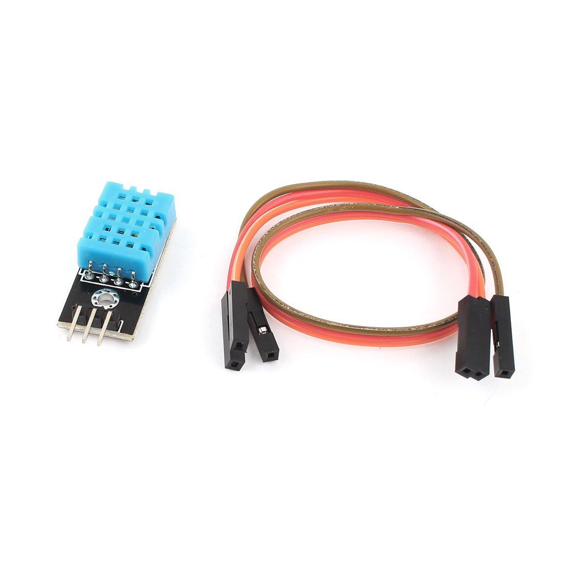 sourcingmap DHT11 Temperatura Umidità Relativa Modulo Sensore w Cavo per arduino sourcing map 711331044426