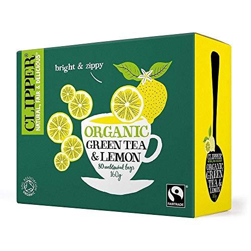 Clipper Green Tea & Lemon - Organic 80 Bags