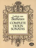 Complete Violin Sonatas, Ludwig van Beethoven, 0486262774