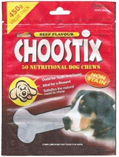 Choostix Beef Dog Treat, 450g