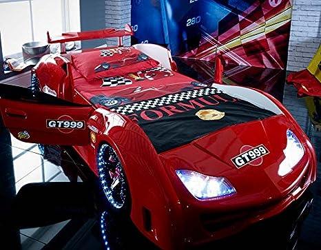 Letto A Forma Di Macchina Da Corsa : Carbed shop gt999 letto per bambino a forma di auto da corsa con